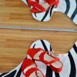 Sätt rött på fötterna i sommar
