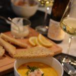 Saftig och god fisksoppa med saffran