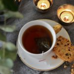 En kopp te och en Belvita