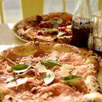 Lördagspizza på 450 gradi