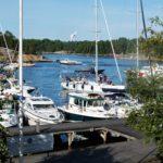 Det började i Vaxholm och slutade i Sandhamn