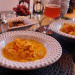 Fisksoppa med saffran och chili