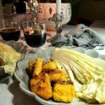 Middags tips – kokospanerad lax